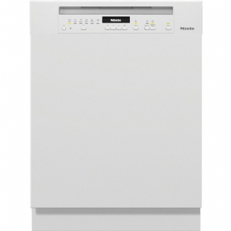 Miele G7100SCi Semi-integrated dishwasher with 3D MultiFlex tray - White